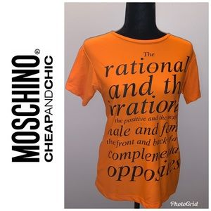⭐️Moschinio Cheap & Chic Top ⭐️Size 12